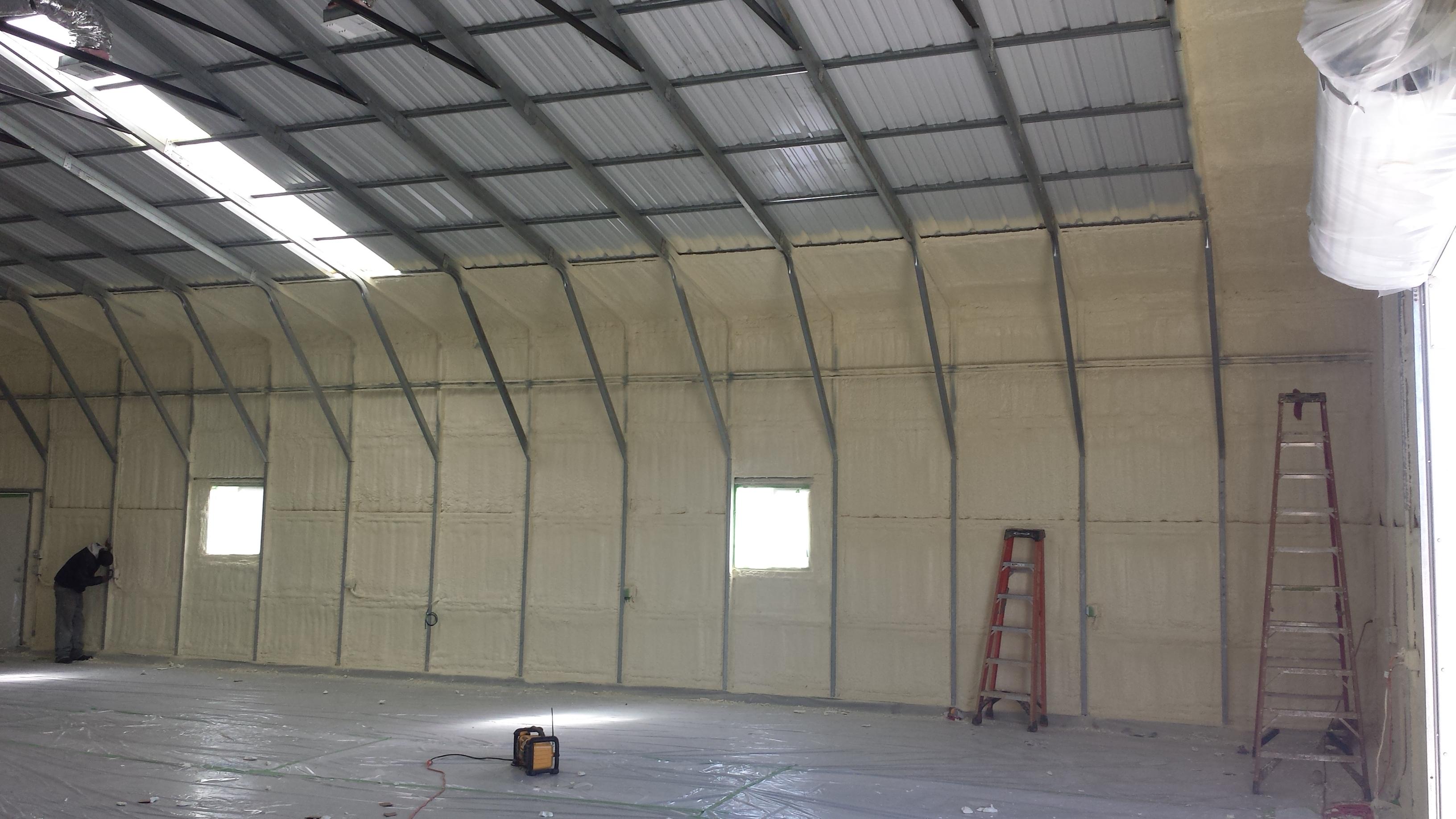 Metal Building Insulation Contractor In Sacramento Ca
